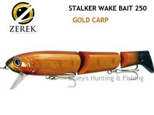 Zerek Stalker wakeBait 250 jointed cod fishing Lure col; GOLD CARP