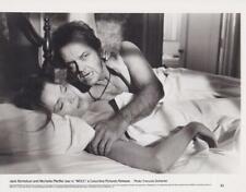 """Jack Nicholson, Michelle Pfeiffer in """"Wolf"""" 8 x 10 Vintage Movie Still"""