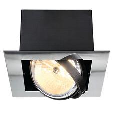 Intalite AIXLIGHT PIATTO SINGOLO QRB111 da incasso lampadario a soffitto,cromo,