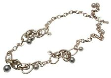 Fashion necklace ball and chain design IAS119