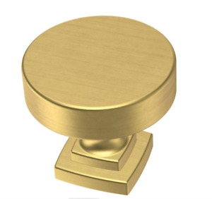 """Liberty P38488C-117 1 1/4"""" Classic Bell Cabinet Knob Brushed Brass"""