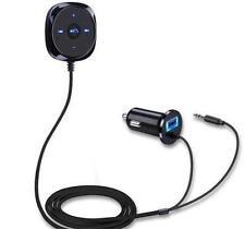 Wireless Bluetooth 3.5mm Handsfree FM Transmitter Car Kit Mp3 Player Car Charger