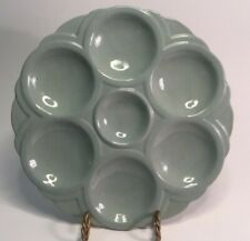 """Art Deco French Faience Oyster Plate """"Digoin""""& Sarreguemines See photos 8-12"""