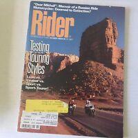 Rider Magazine Testing Touring Styles Luxo Vs Cruiser October 1988 060117nonrh3