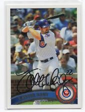 XAVIER NADY Signed Autograph 2011 Topps Baseball Card Auto Chicago Cubs #137 COA