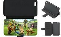 PETER RABBIT inspired Wallet Flip Phone Case iPhone Galaxy 4 5 6 7 8 Plus X (A)