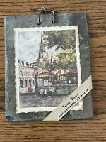 ARCHIE BOYD ST. LOUIS CATHEDRAL Vieux Carre New OrleansROOFING SLATE TILE 175 y