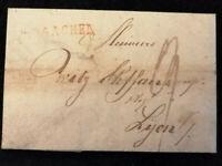 Vorphilatelie Altdeutschland 1816 - Brief Faltbrief  Aachen      Nr.17