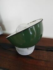 Industrial Gas Station Barn Porcelain Antique Salvaged Light