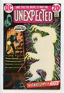THE UNEXPECTED #140  DC 1972 - Nick Cardy & Alfredo Alcala Art - FN/VF