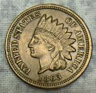 1863 Indian Head Cent Uncertified Civil War Date Coin