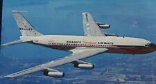 Postcard BRANIFF'S AIRWAYS EL DORADO SUPER JET 7077 US to South America