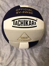 Tachikara SV5WSC Sensi-Tec Composite  Volleyball (Purple, White, Grey)