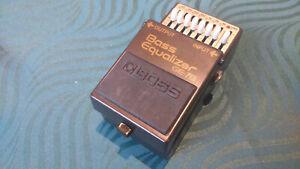 Boss GE-7B Bass Equalizer Effect Pedal -->Vintage ACA version - June 92<--