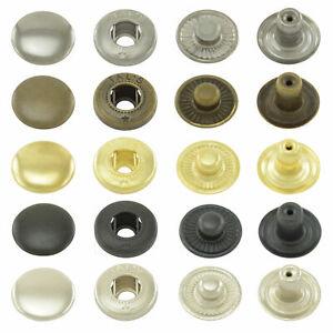 Boutons pression ressort parallèle lot de pressions métalliques sans couture