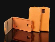 % FLEXI Handy Tasche Hülle Cover Orange Schutzhülle Samsung Galaxy S6 Edge