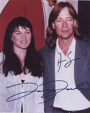 Xena photo photograph auto autographed signed by Lucy Lawless & Kevin Sorbo 8X10