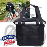 Bicycle Travel Carrier Cat Pet Bike Bag Frame Basket Dog Front ACB#