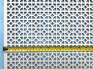 Radiator cover decorative grille 3ft x 2ft screening panel Ockley design