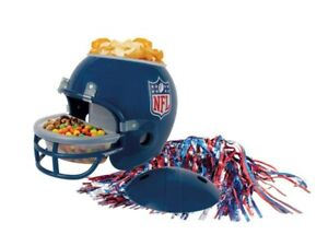 Official Create Your Own NFL Snack Helmet Blue - NFL Super Bowl 2021 2 Stickers
