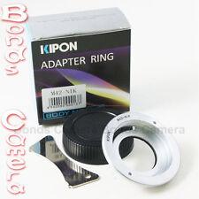 Tornillo de montaje para lentes M42 Kipon Nikon F Adaptador de montaje D300S D500 D610 D7200 D5500