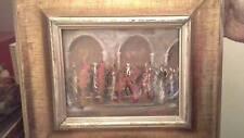 (Futurismo) Dipinto ad olio del pittore Austin Forte anni '60 SCONTO 30%