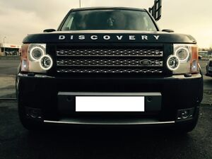 Land Rover Discovery 3 Headlight Conversion to 2013 LED Spec