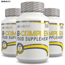 VITAMIN B-COMPLEX PREMIUM Pro-Health Food Supplement Improves Energy Well Being