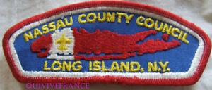 BG10966 - PATCH NASSAU COUNTY COUNCIL NEW YORK - BOYS SCOUTS