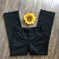 🎯BANANA REPUBLIC🎯Black Jackson Fit Petite Dress Pants   4 PETITE  