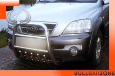 KIA SORENTO I 2002-2009 TUBO PROTEZIONE ALTO BULL BAR INOX STAINLESS STEEL!