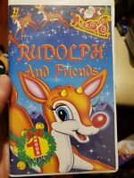 Rudolph And Friends Vhs 1997 Goodtimes Clamshell Ultra Rare Very HTF 1 hour