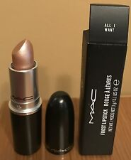 "MAC MARIAH CAREY LIMITED EDITION FROST LIPSTICK ""ALL I WANT""~NIB"