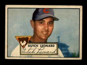 1952 Topps Baseball #110 Dutch Leonard (Cubs) GD/VG