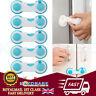 10X Child Baby Safety Cupboard Cabinet Locks Pink Proofing Door Drawer Fridge UK