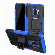 Hybrid Case 2teilig Outdoor Blau Tasche Hülle für Samsung Galaxy S9 G960F Hülle