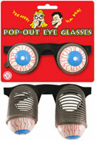 Fancy Dress Pop Out Eye Glasses Googly Spring Eyes Novelty Fun Accessory