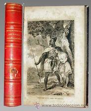 1870c - VIAJES DEL CAPITAN COOK - 9 Espectaculares Láminas - en francés