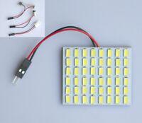 White 5630 SMD 48 LED Interior Dome Panel Reading Light Festoon T10 BA9S