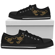 Scorpio Zodiac Men's And Women's Low Top Shoes - Scorpion Lover Canvas Shoes