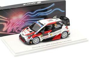 TOYOTA YARIS WRC #69 - K.ROVANPERA - RALLY MONTE CARLO 2020 1/43 NEW SPARK S6554
