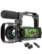 4K Video Camera Camcorder YouTube Vlogging Camera 48MP UHD WiFi IR Night