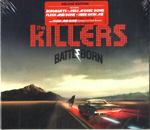 The Killers – Battle Born CD Deluxe Edition Island 2012 NEW/SEALED Digisleeve