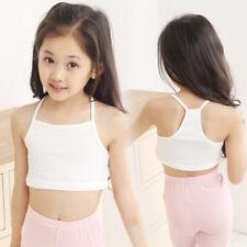 Bonito Verano Niños Niña Camisetas de Tirantes Blusa Informal Camisola Top Corto