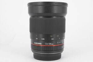Samyang 24mm F1.4 Canon EOS Full Frame Lens  - Mint Condition - Ex-Display  -...