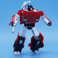 Transformers MFT Sideswipe Red Alert Action Figure MFT Pocket Toy New In Stock