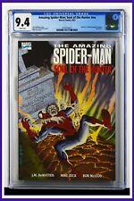 Amazing Spider-Man Soul Of The Hunter #nn CGC Graded 9.4 Marvel 1992 Comic Book.