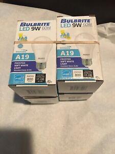 (PACK 4) BULBRITE-774110 - 9 watt - 120 volt - A19 - Medium Screw (E26) Base -