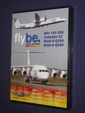 JUST PLANES COCKPIT VIDEO DVD      flybe.  british european     new sealed