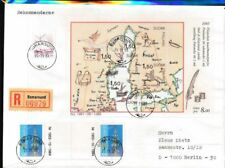 Finland Blok 1 (compleet.Kwestie.) Brieven/Documenten Einschreiben Mischfrankatu